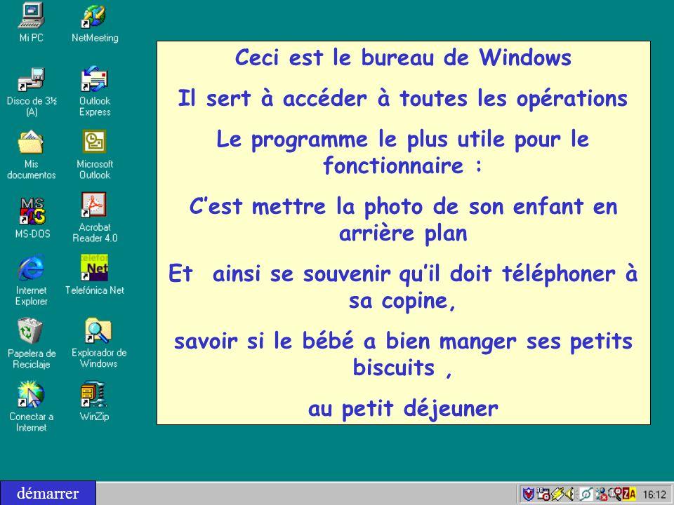 Et noubliez pas : lobjectif de Windows cest de faciliter votre travail.