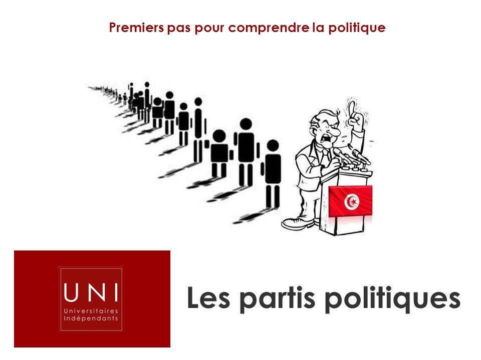 Premiers pas pour comprendre la politique Les partis politiques