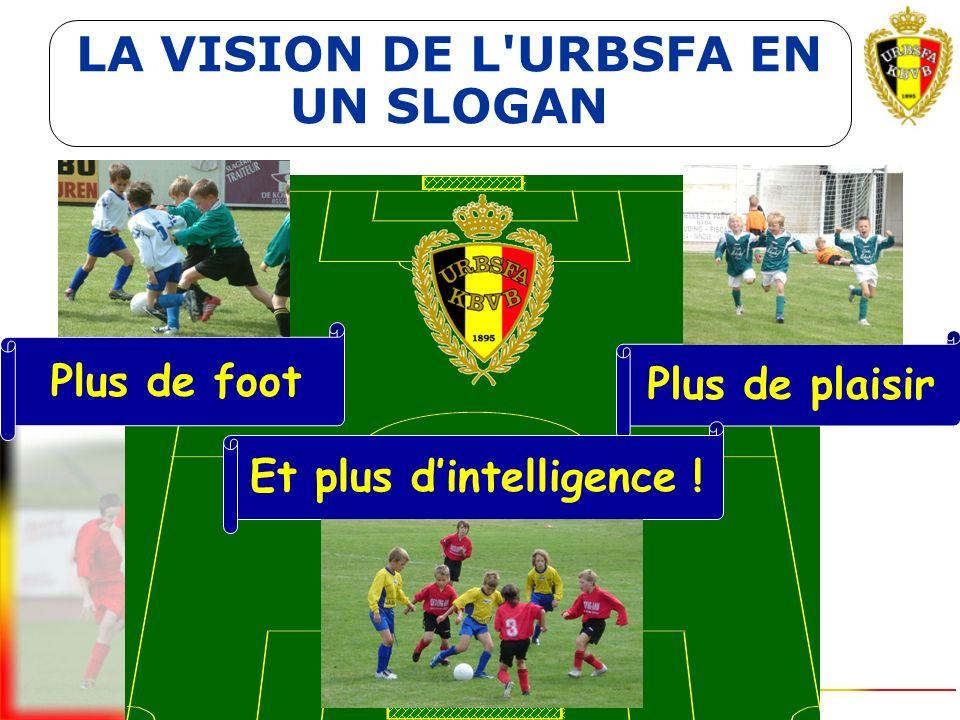 L'engagement de toutes les personnes concernées par le football des jeunes est souhaité La vision reste un modèle théorique qui demande une adaptation