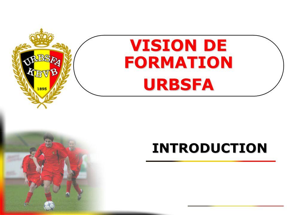 VISION DE FORMATION URBSFA SEPTEMBRE 2006