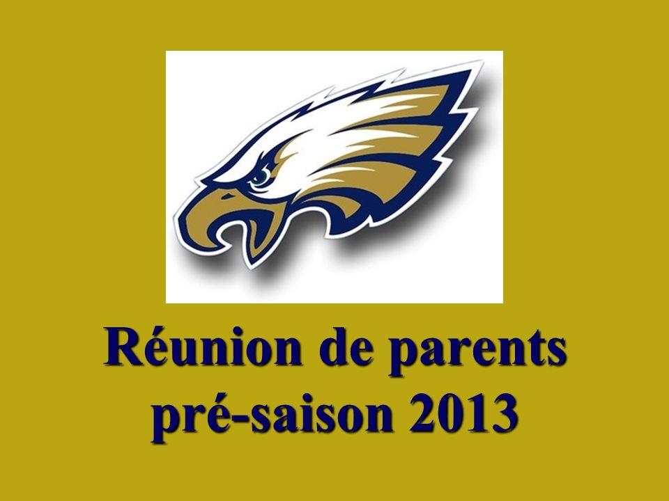 Réunion de parents pré-saison 2013