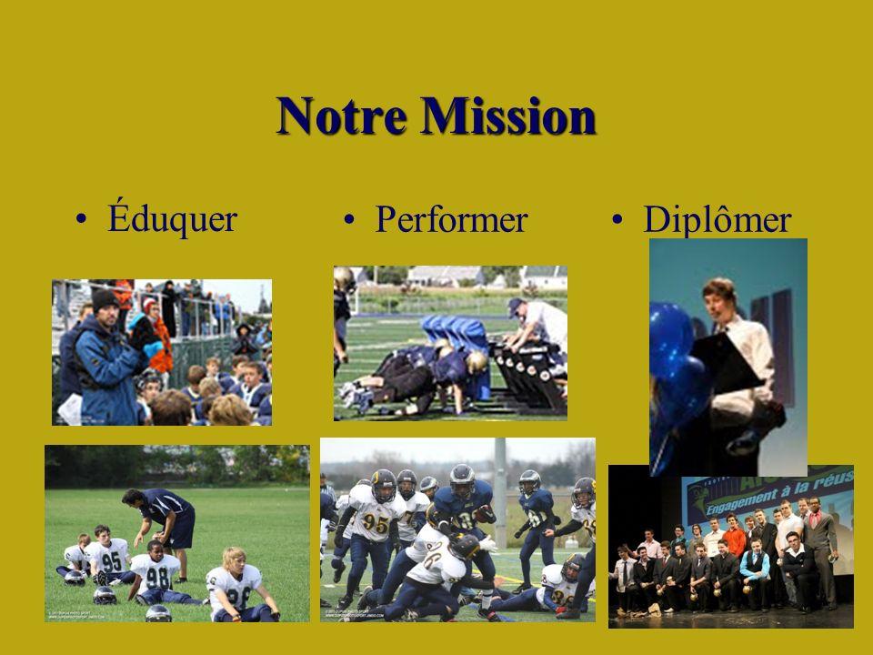 Notre Mission Éduquer DiplômerPerformer