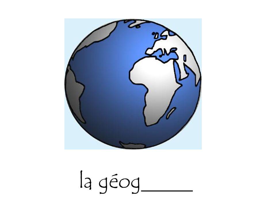 la géog_____