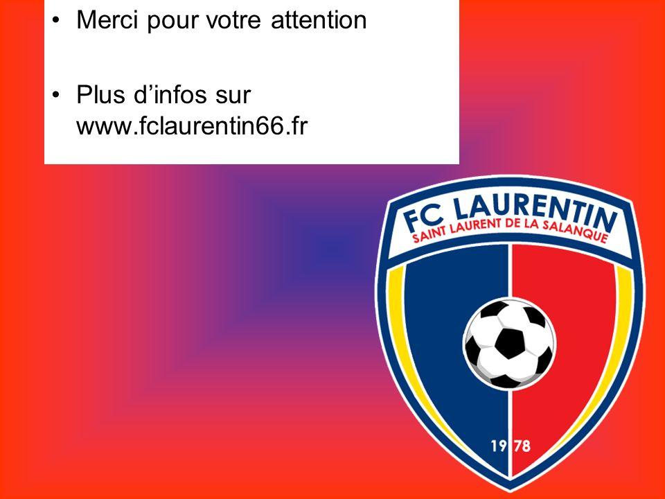 Merci pour votre attention Plus dinfos sur www.fclaurentin66.fr