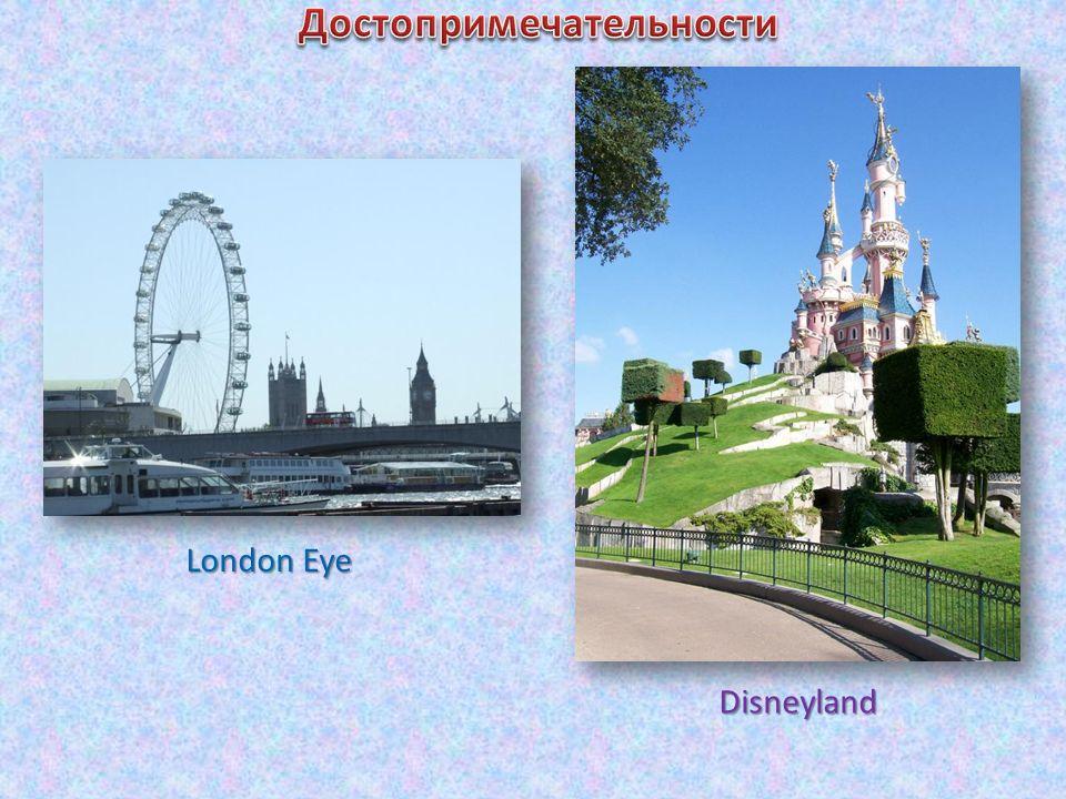 London Eye Disneyland