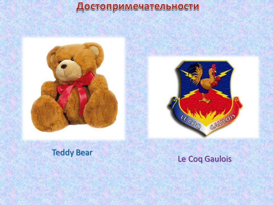 Teddy Bear Le Coq Gaulois