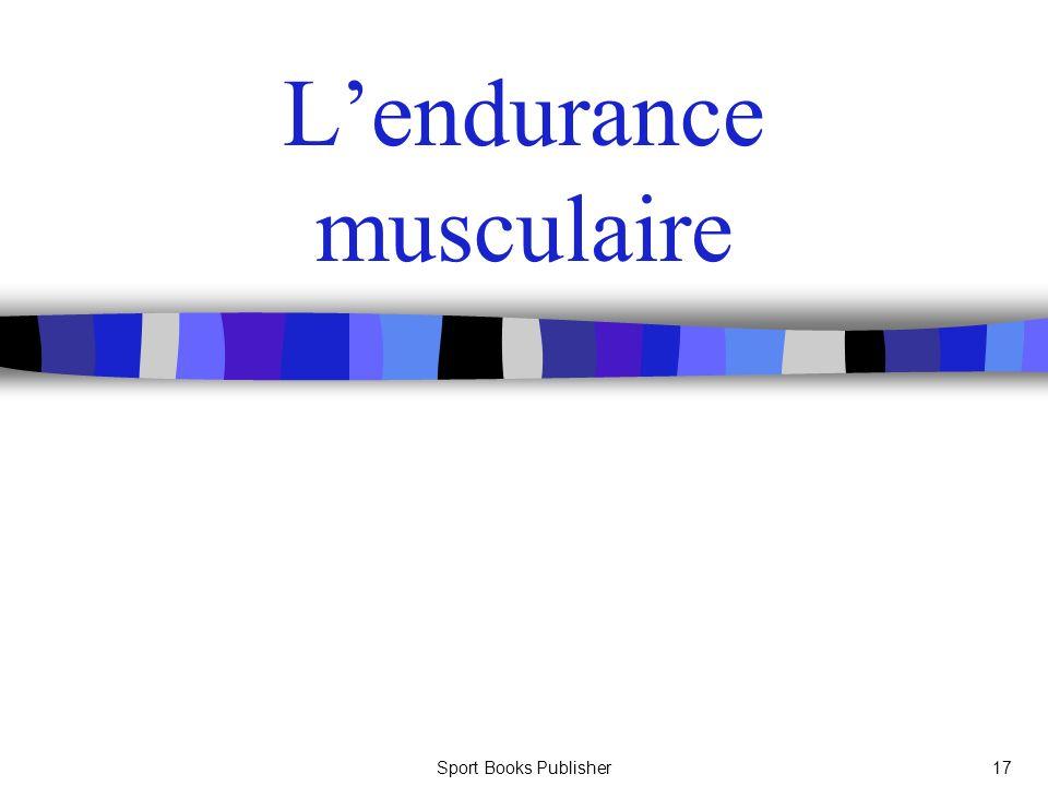 Sport Books Publisher17 Lendurance musculaire