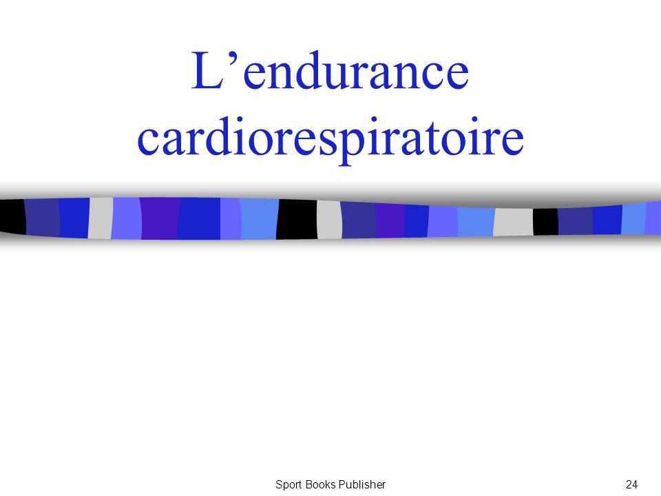 Sport Books Publisher24 Lendurance cardiorespiratoire