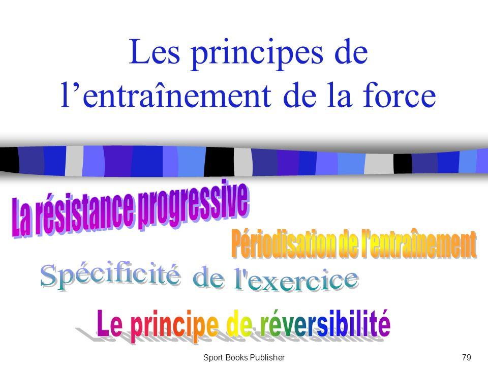 Sport Books Publisher79 Les principes de lentraînement de la force