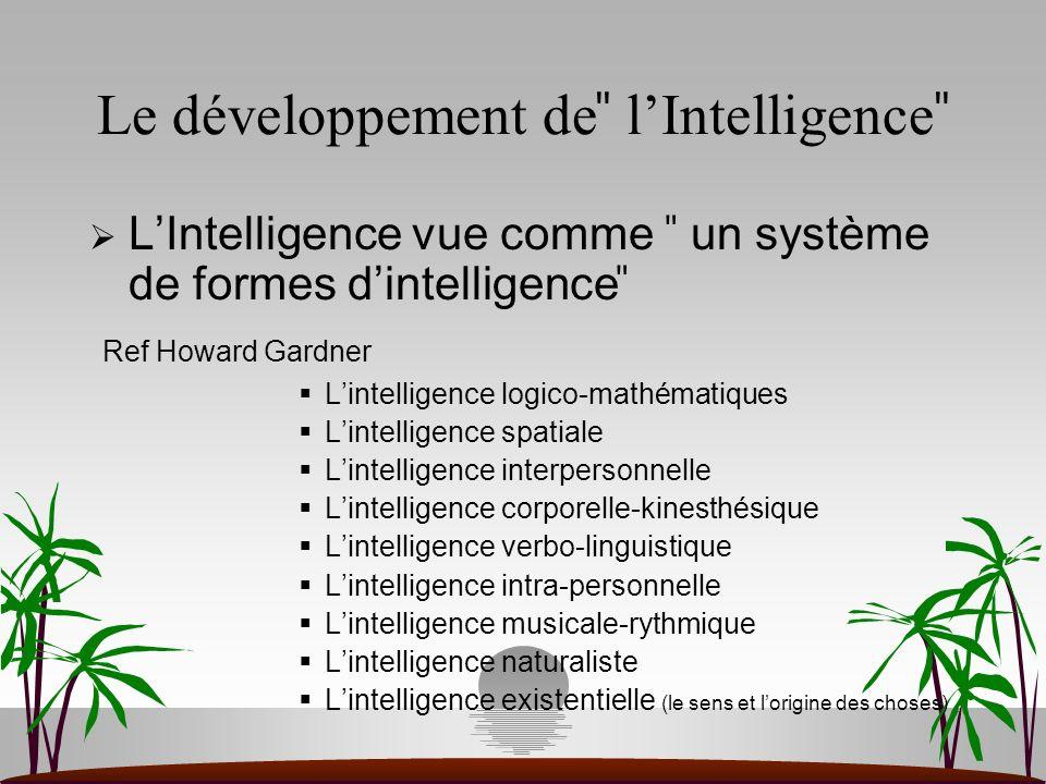 Il y a nécessité à créer et à utiliser un cadre opératoire Qui prenne en compte la combinaison des composantes de réalisation, de pensée et dinvestissement Qui organise linterrelation entre les capacités, les connaissances et les attitudes