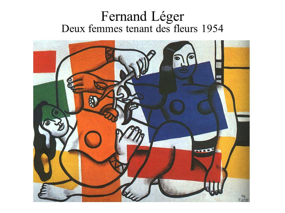 Fernand Léger Deux femmes tenant des fleurs 1954