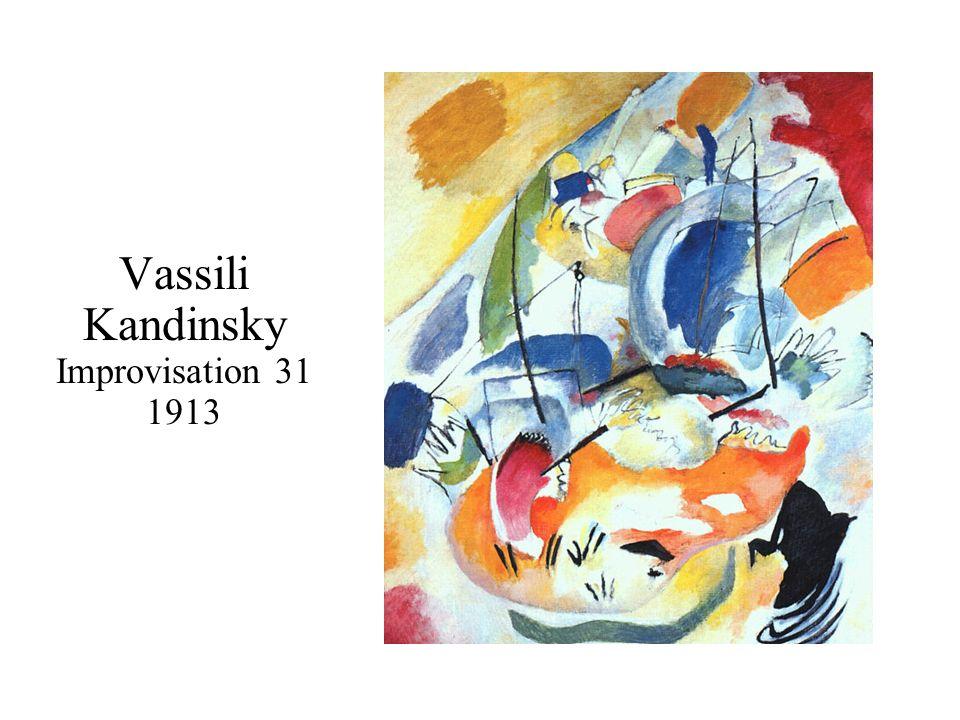 Vassili Kandinsky Improvisation 31 1913