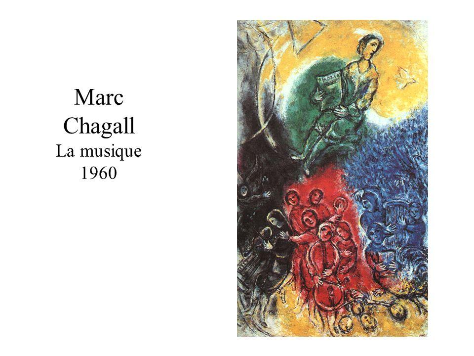 Marc Chagall La musique 1960