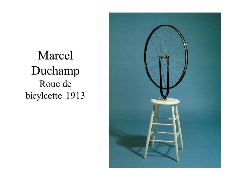 Marcel Duchamp Roue de bicylcette 1913