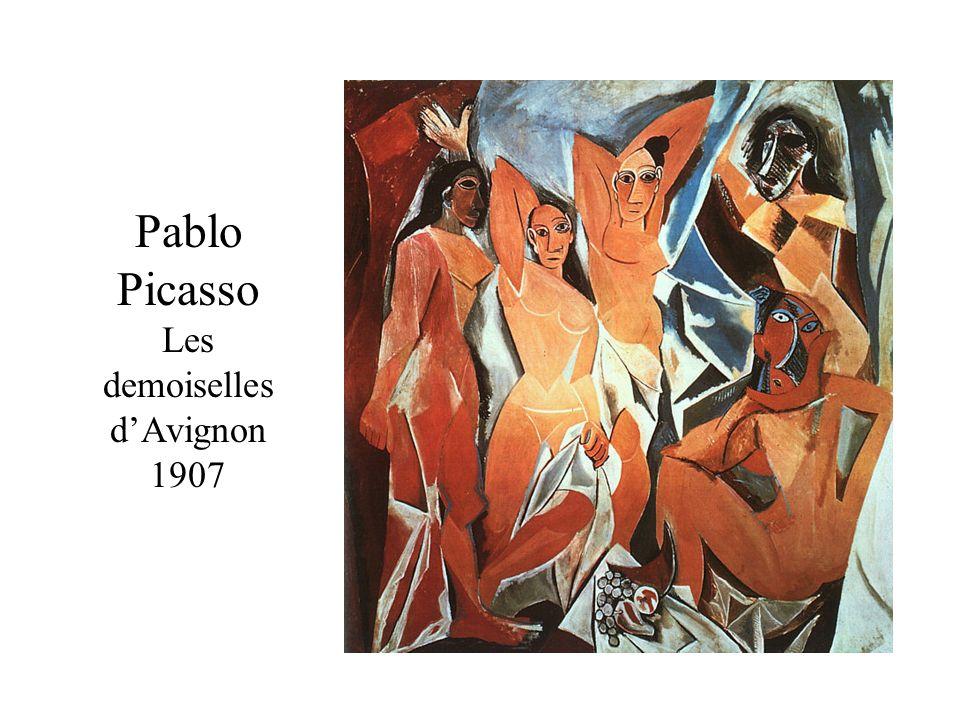 Pablo Picasso Les demoiselles dAvignon 1907