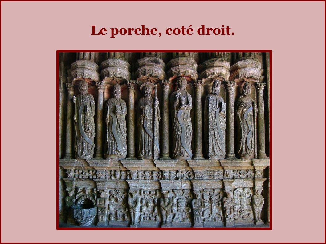 Le porche (1601).