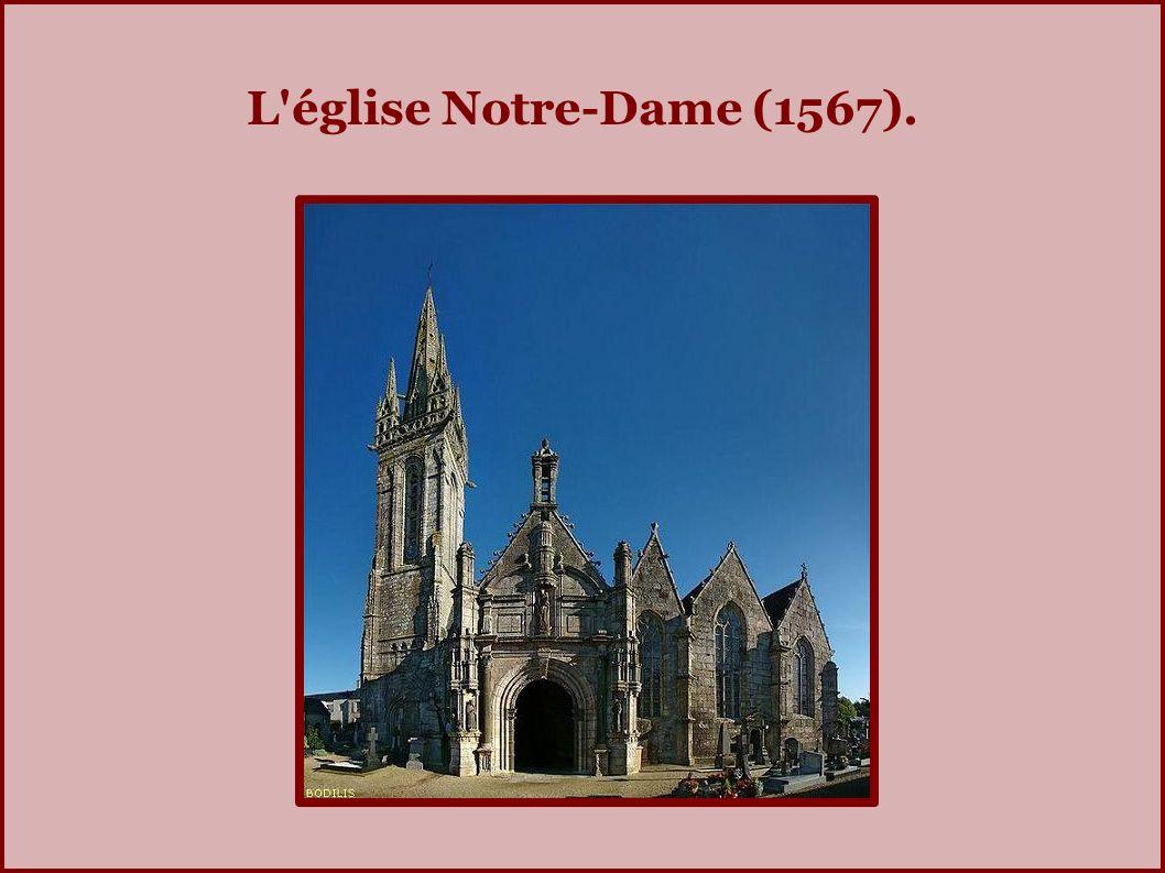 L église Notre-Dame (1567).