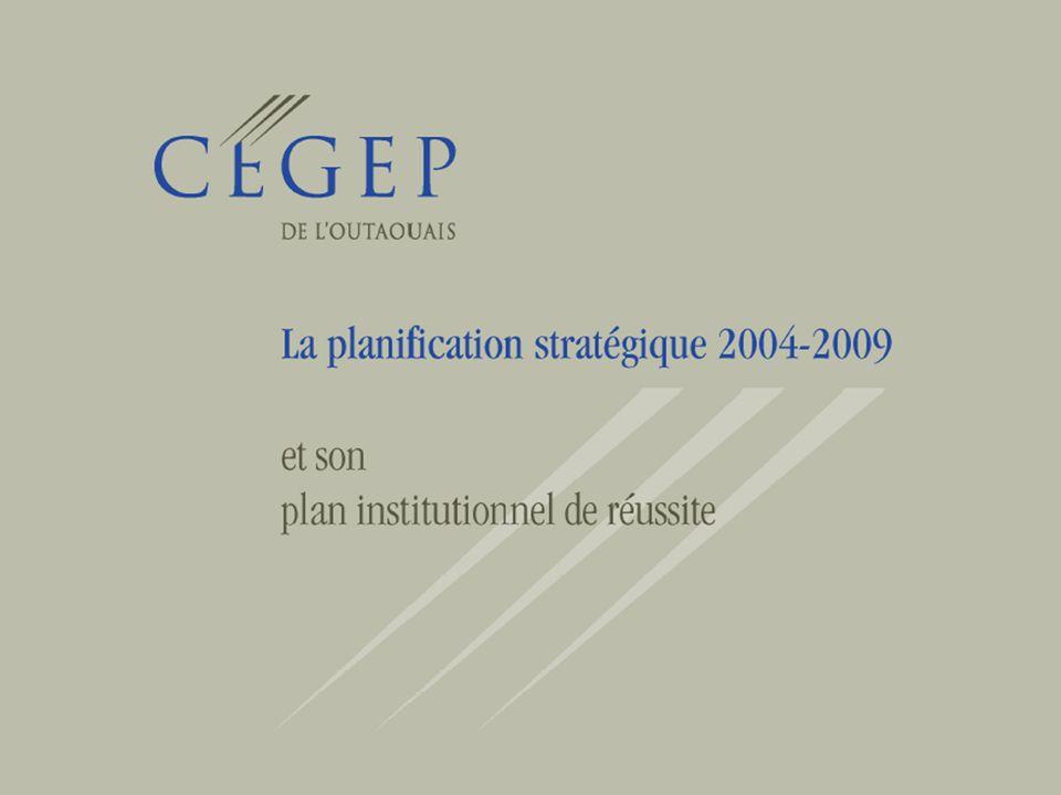2 Les étapes de planification Phase 1 – Diagnostic Février-mai 2004 Phase 2 – Orientations stratégiques Juin 2004 Phase 3 – Plan daction Septembre-octobre 2004
