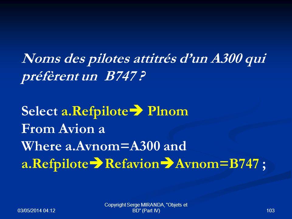 03/05/2014 04:14 103 Copyright Serge MIRANDA,