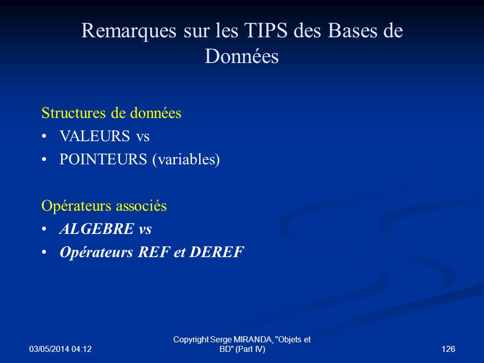 03/05/2014 04:14 126 Copyright Serge MIRANDA,