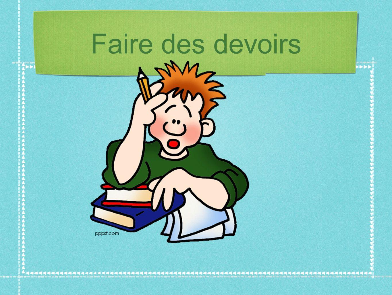 Faire* de lhistoire = to take history class