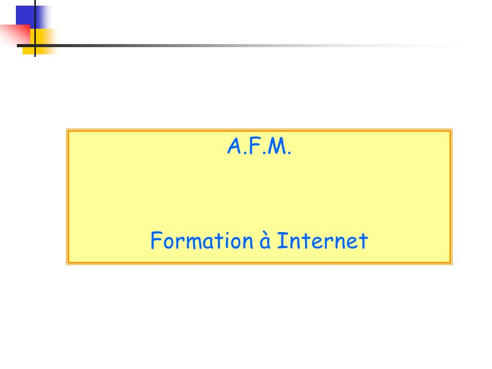 Il faut ouvrir un compte auprès d un Fournisseur d Accès à Internet (Provider ou FAI) comme Orange, Free, Alice, ….
