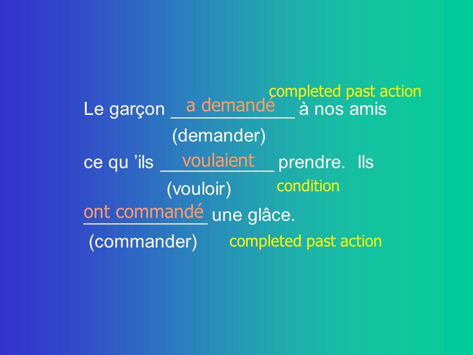 Sylvie ______________ hier soir parce (ne pas sortir) qu elle _____________ préparer son (vouloir) examen de français.