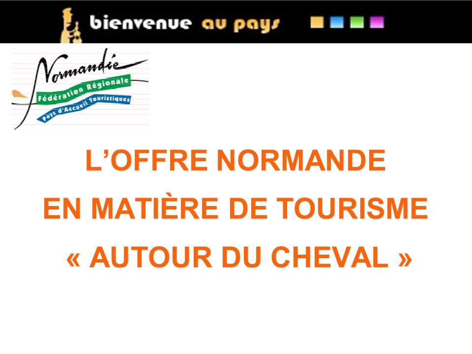 LOFFRE NORMANDE EN MATIÈRE DE TOURISME « AUTOUR DU CHEVAL »
