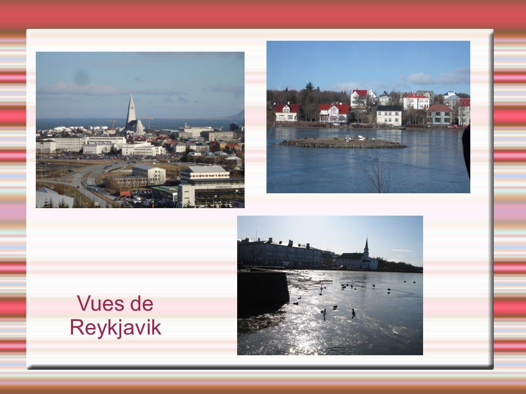 Vues de Reykjavik