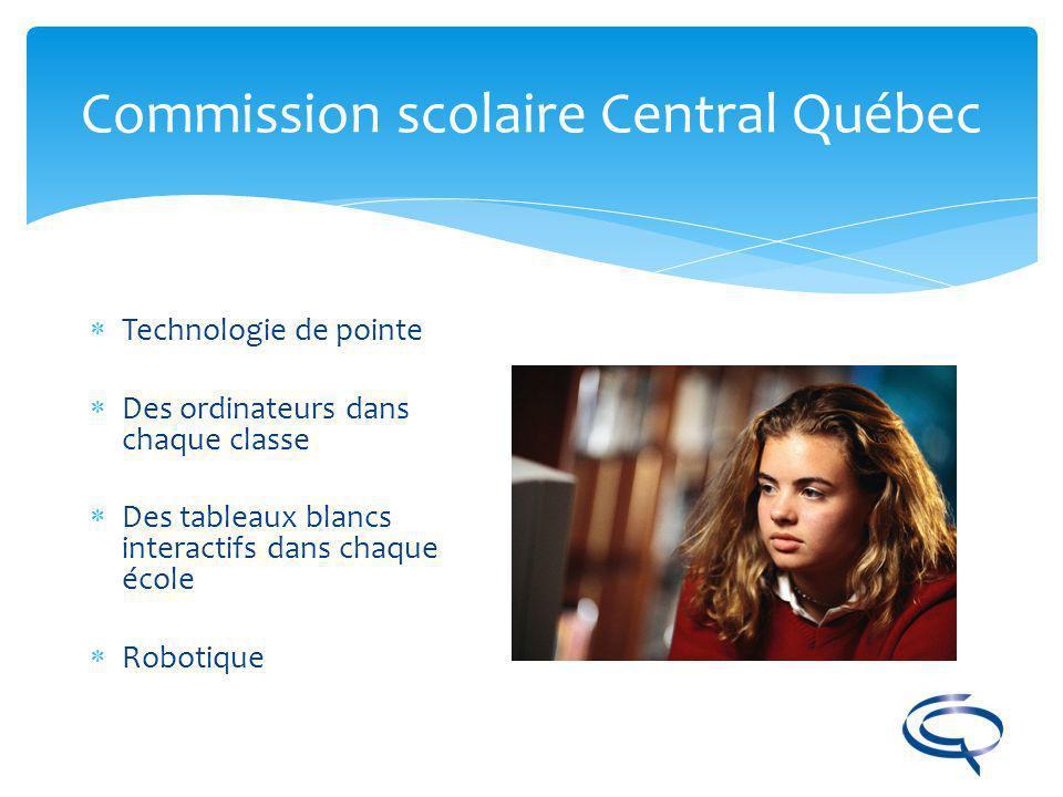 Commission scolaire Central Québec Des bibliothèques bien garnies