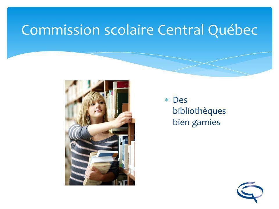 Commission scolaire Central Québec Des services de transport scolaire ou municipal