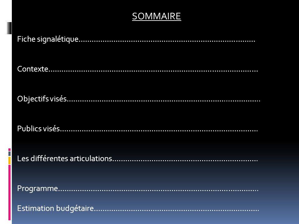 FICHE SIGNALETIQUE Dénomination de lévènement : « ASMAC SPORTIVE AND CULTURAL SEASON » Organisateur : Ecole Supérieure des Sciences et Techniques de lInformation et de la Communication (ESSTIC).