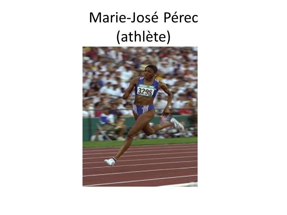 Marie-José Pérec (athlète)