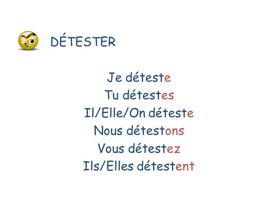 Comment se forment les verbes.