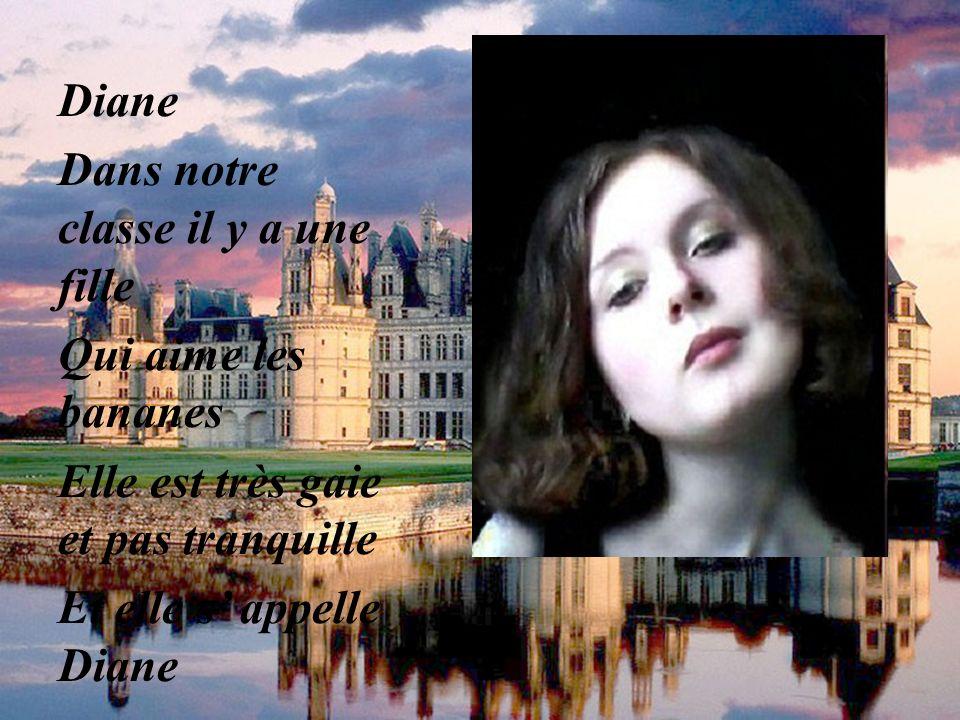 Catherine est pleine de vie Elle court à coeur ouvert Vers son futur Catherine Catherine est pleine de vie Elle court toujours Sans cesse, avec un crie Vers la future