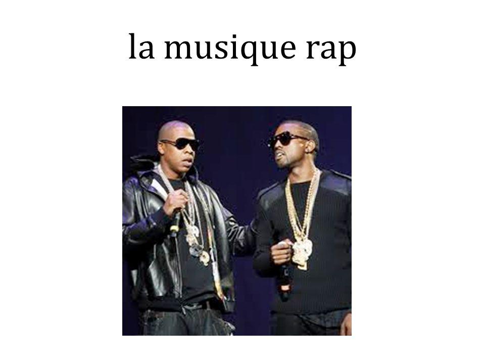 la musique rap