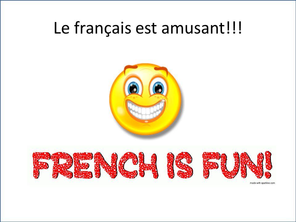 Le français est amusant!!!