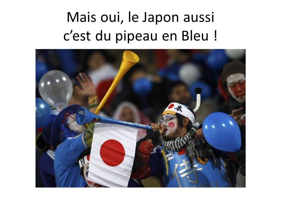 Mais oui, le Japon aussi cest du pipeau en Bleu !