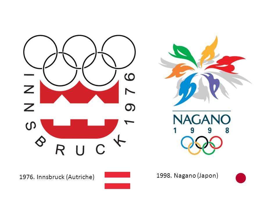 1976. Innsbruck (Autriche) 1998. Nagano (Japon)