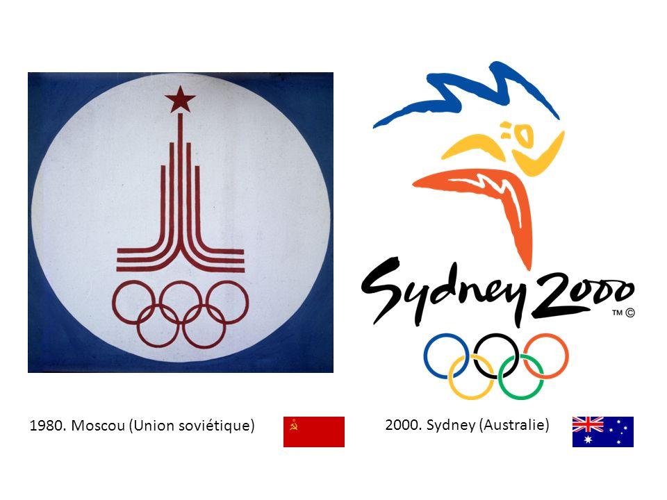 1980. Moscou (Union soviétique)2000. Sydney (Australie)