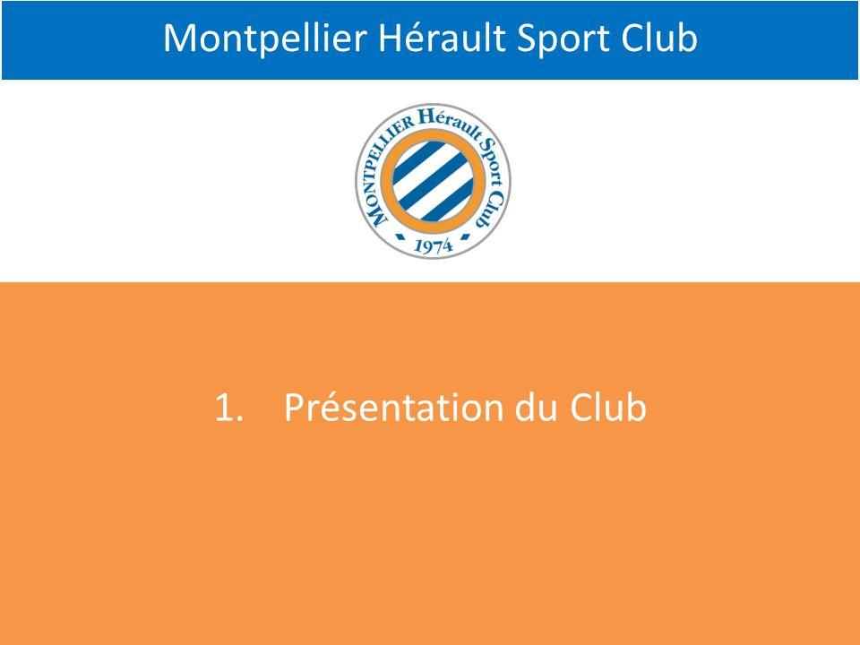 Montpellier Hérault Sport Club 1.Présentation du Club
