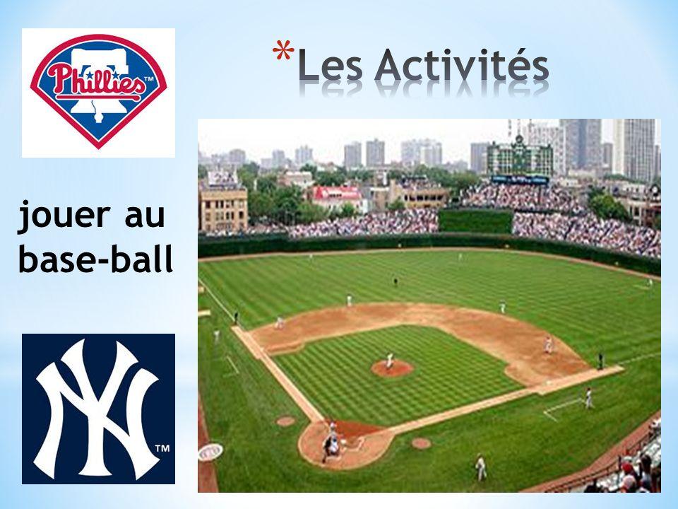 jouer au base-ball