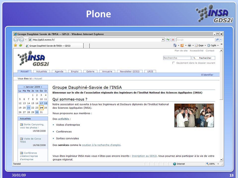 30/01/09 Plone 13