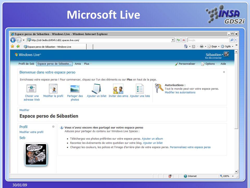 30/01/09 Microsoft Live