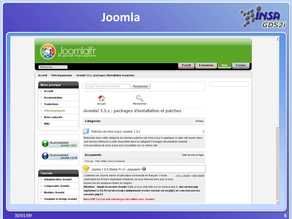 30/01/09 Joomla 5