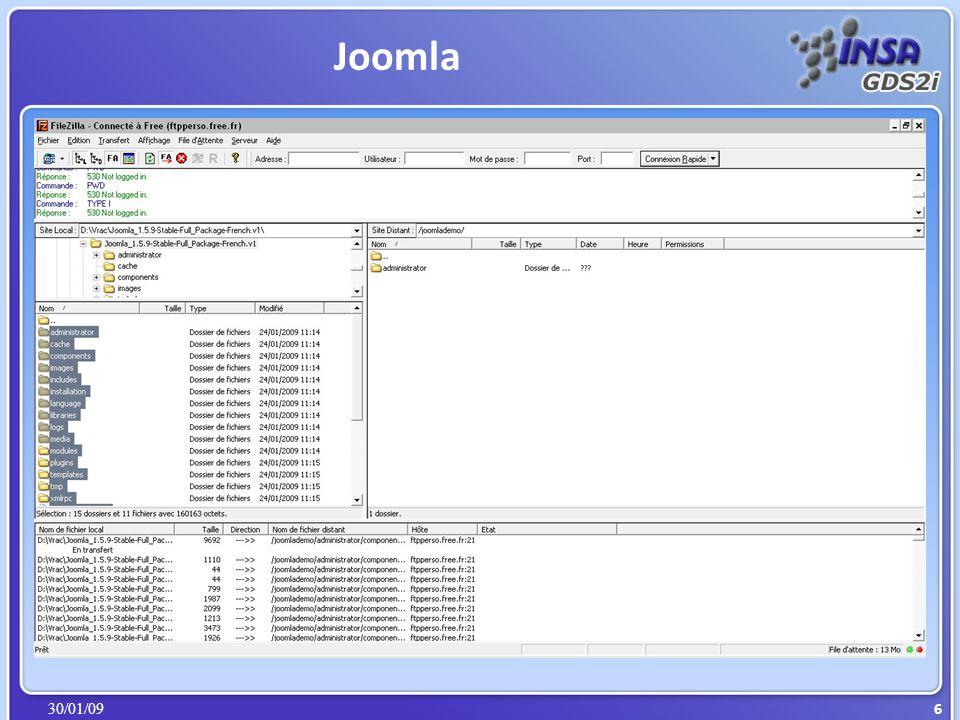 30/01/09 Xml based User interface Language Conçu par Mozilla http://robin.sourceforge.net/ http://www.opensi.fr/expershop?Page=PresCompta/Pres_Compta.htm Firefox SamePlace XUL