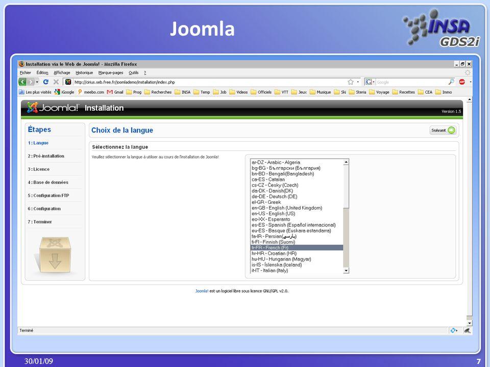 30/01/09 Joomla 8