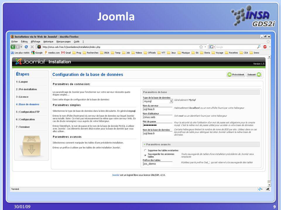 30/01/09 Joomla 10