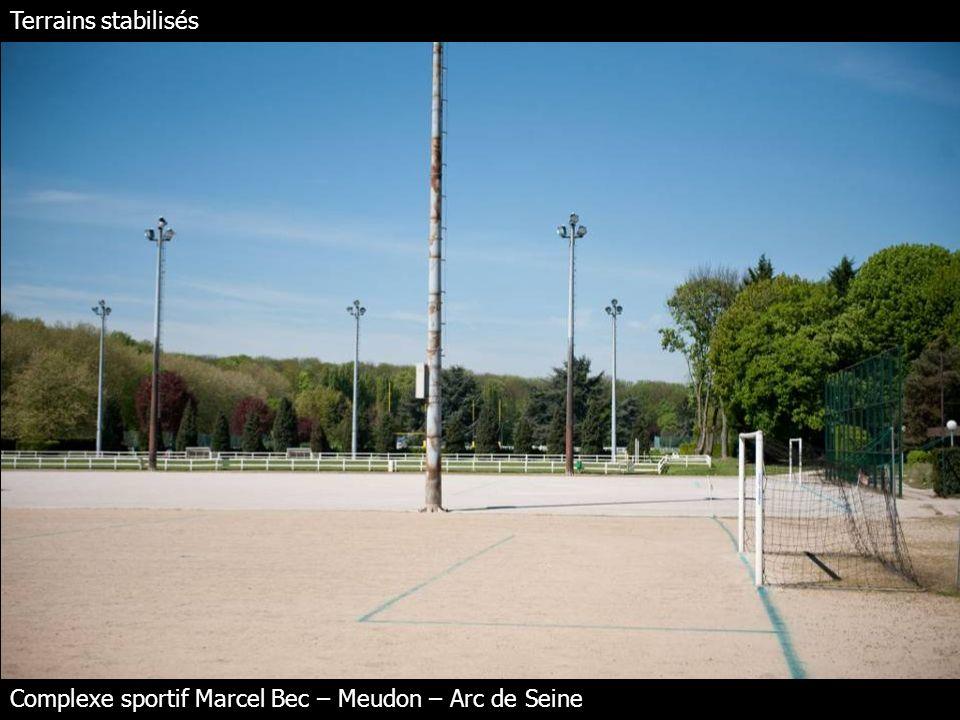 Terrains stabilisés Complexe sportif Marcel Bec – Meudon – Arc de Seine