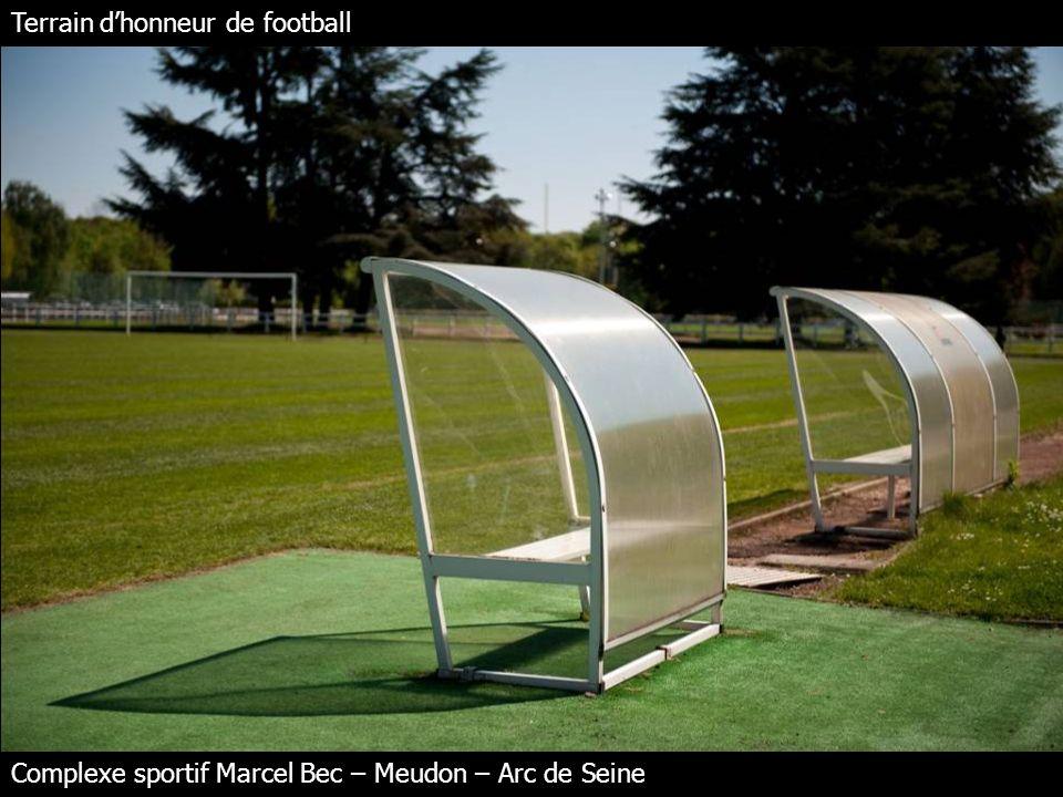 Terrain dhonneur de football Complexe sportif Marcel Bec – Meudon – Arc de Seine